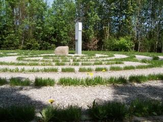 Nesselwang: Besinnungsweg (Station 2: Labyrinth)